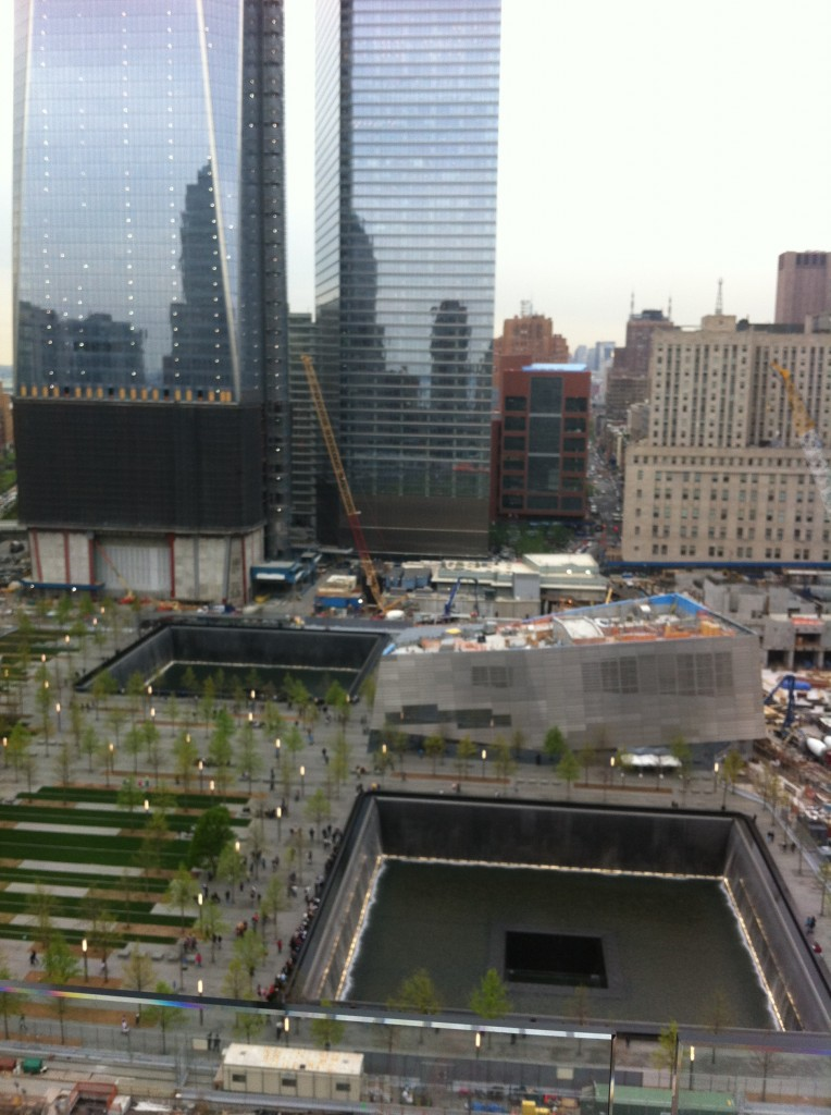world trade center two pools