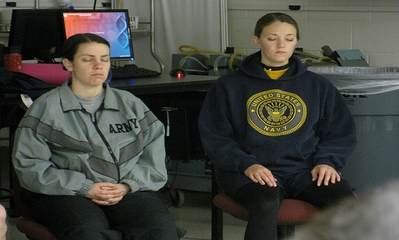 female veterans with PTSD